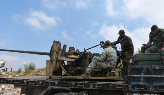 Syrian Army attacks Hama front-lines as militants remain inside demilitarized zone