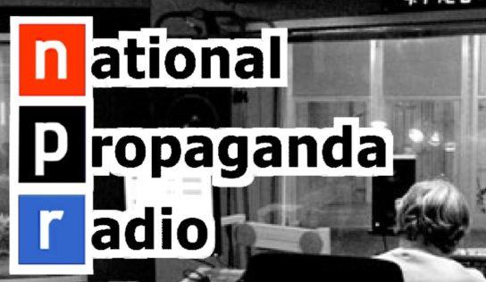National Public Radio (NPR) is a political propaganda media outlet