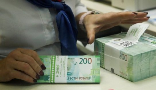 Russia adds $1.4 billion to its international reserves in one week