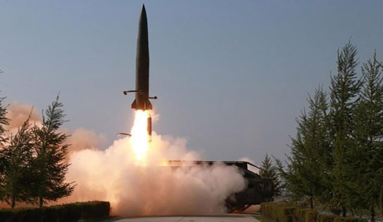 North Korea launches several unidentified projectiles to Sea of Japan