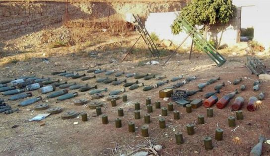 Syrian army  find's US-made missiles in former terrorist hideout in Hama