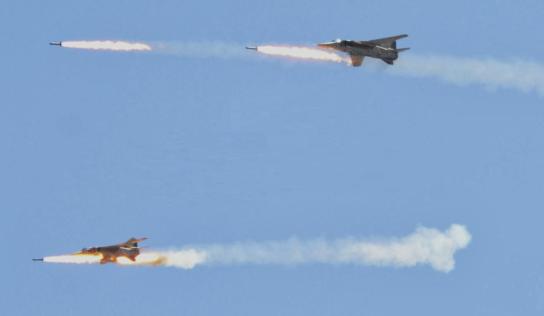 Syrian Air Force kills terrorist  in northeast Latakia