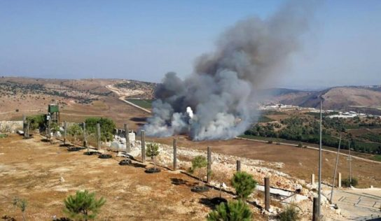 Lebanese resistance responds to the Israeli aggression  and kill a number  soldiers