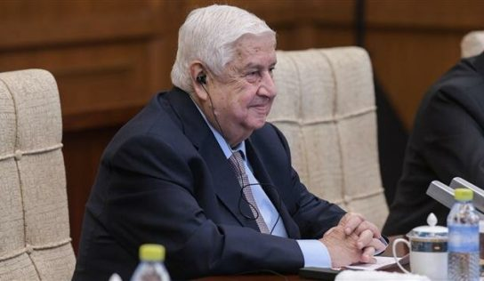 FM Muallem: Syria rejects foreign interference in constitutional committee' work