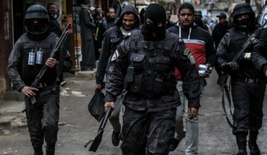 Egypt police kill 6 Brotherhood members in shootout