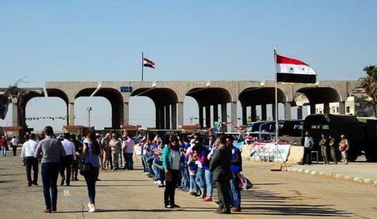 More Syrians return from Jordan camps through Nassib crossing