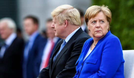 German govt says Britain did not present any new ideas to solve Irish border issue