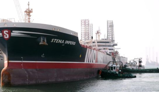 UK-Flagged Tanker Stena Impero Docks in Dubai After 10-Week Detention in Iran – Reports