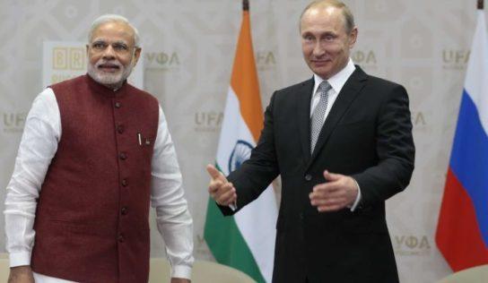 Russia's Asian Pivot: The Vladivostok-Chennai Maritime Corridor