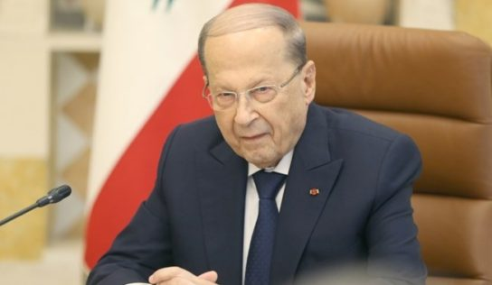 Lebanon's Aoun considering Damascus visit to push for Syrian refugees' return