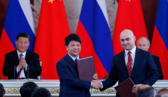 Huawei & Russian Media Group Rossiya Segodnya Sign Deal on Strategic Cooperation