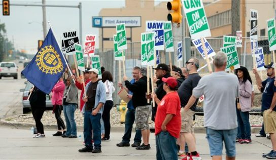 Nearly 50,000 General Motors auto workers go on strike in US