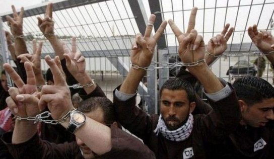 140 Palestinian prisoners on hunger strike for 13th day over cancer-causing devices