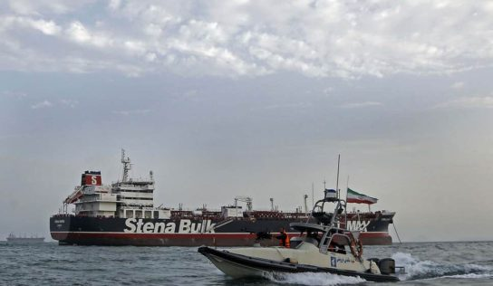 Tehran to free 7 crew members of detained British tanker