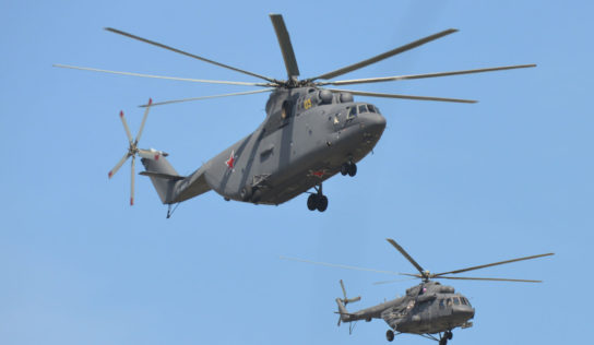 China, Russia Sign Heavy Helicopter Deal