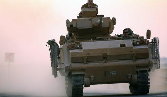Turkey invades Syria to destroy the terrorist state