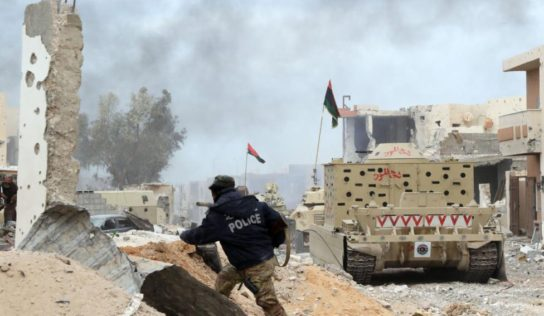 Libyan National Army Says Liquidated Over 20 Militants Who Fled US Airstrikes in Southwest