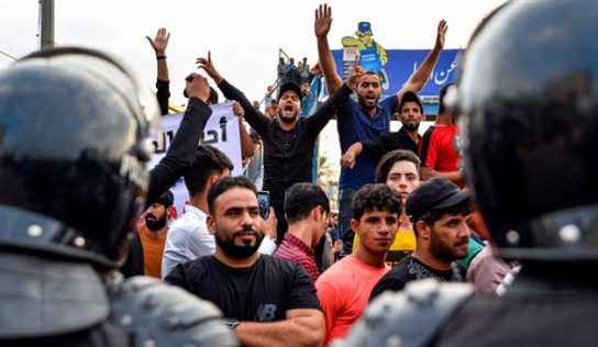 2 dead, 200 wounded in Iraqi protests