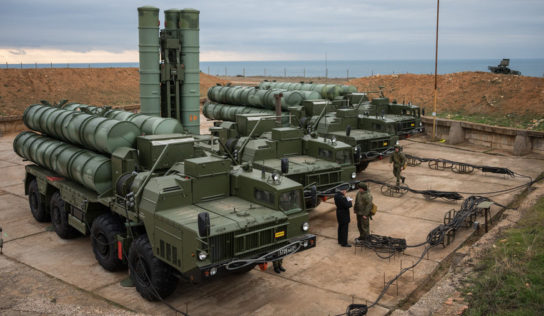 Russia Successfully Tested S-500 Air-Defense System In Syria