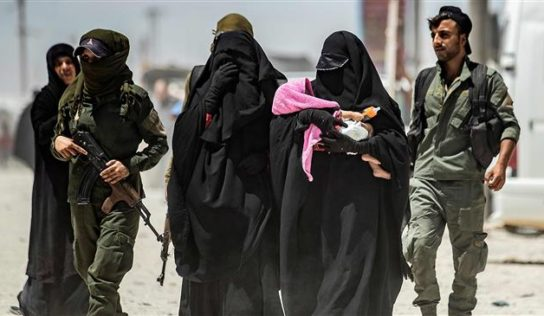 US forces move 1,500 Daesh women from Syria to Iraq amid Turkish offensive