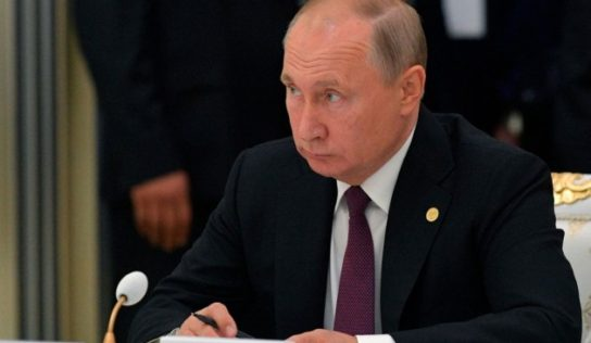 Putin: Turkish operation in Syria threatens to revive ISIS