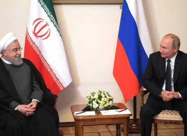 President Rouhani: Iran-Russia ties advancing against US will
