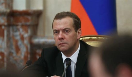 Premier Medvedev: Russia's response to NATO build-up could be both political, military