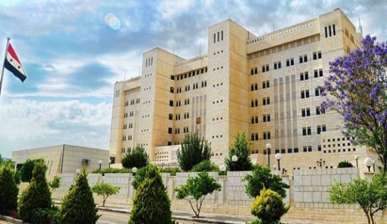 Syrian Foreign Ministry Welcomes Withdrawal of SDF Troops From Syrian-Turkish Border