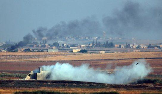 Heavy fighting in northeastern Syria as Kurdish civilians flee Turkish attacks