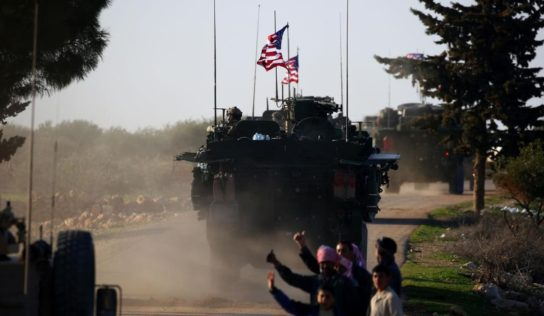 US Military Convoy Arrives in Oil-Rich Areas in Northeastern Syria