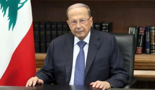 Lebanese president invites protesters to talk, hints at govt. reshuffle