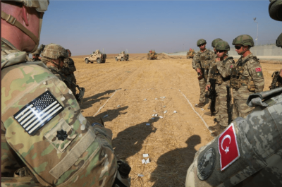 At Least 200 Turkish Military Vehicles Cross Syrian Border
