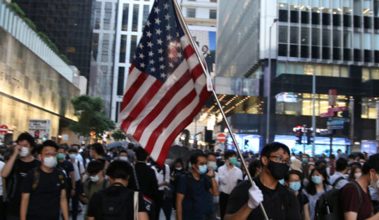"US Agitators in Asia ""United"" over Hong Kong Chaos"