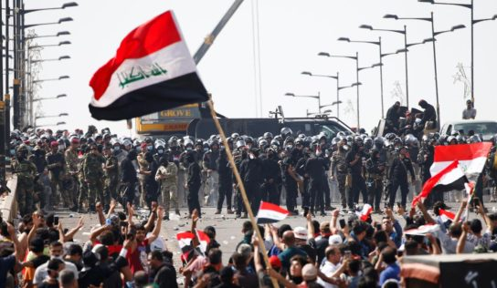 Second Protester Dies in Baghdad, Over 350 Wounded