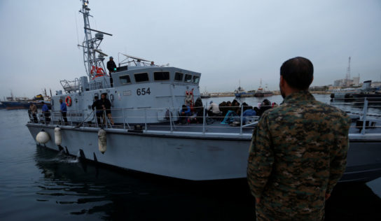 Libya's coastguard intercepts dozens of Europe-bound migrants