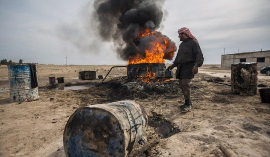 Protecting the Oil Fields: Syria Army Deployments on the Northeastern Borders with Turkey