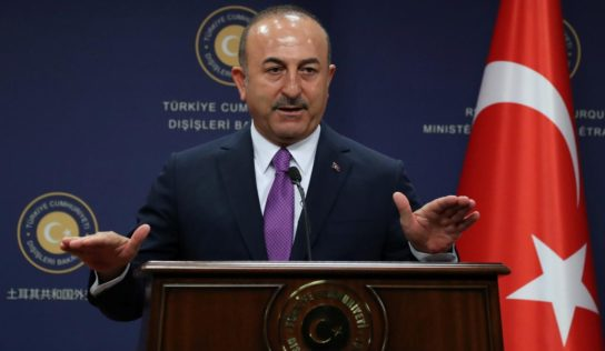 Turkey's Foreign Minister Says Ankara Was Forced to Start Syria Op Due to US Arms Supplies to Kurds