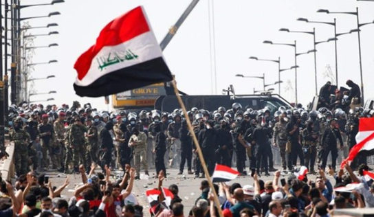 Iraq protests enter 2nd month, top cleric warns foreign actors against interfering