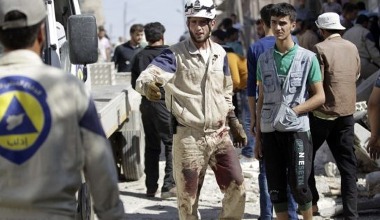 Trump approves $4.5 million in aid to 'White Helmets' in Syria
