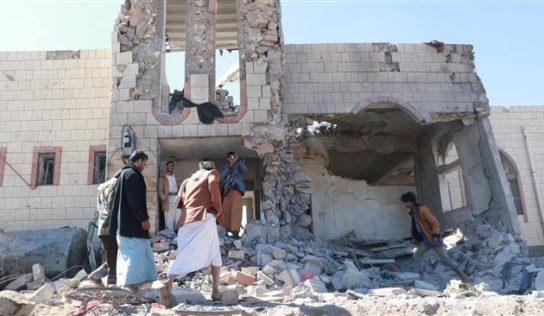 Saudi airstrikes leave five more civilians dead in northern Yemen