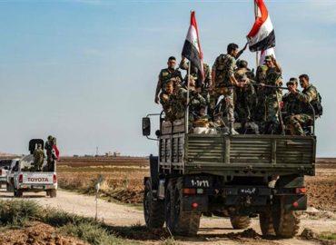 Syria begins deploying troops in northeast along Turkish border
