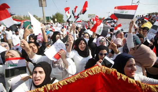 Iraqi protestors: they demand basic services and an end to corruption