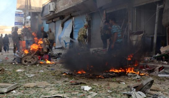 At least 13 killed in car bomb explosion in Syria's Tal Abyad