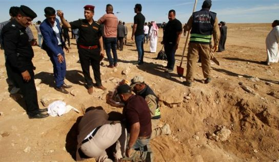 Official: Nearly dozen mass graves of Kurds killed by Saddam exist in southern Iraq