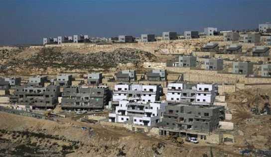 EU calls on Israel to cease illegal settlement expansion in occupied West Bank