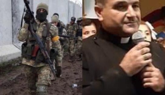 Part 2: Turkish mercenaries, FSA, execute Syrian Armenian priest, and his father