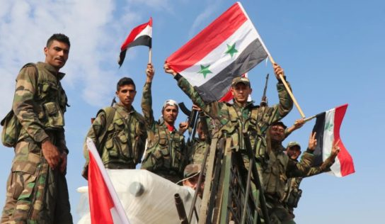 Syrian army troops clear more towns terrorists in Idlib province