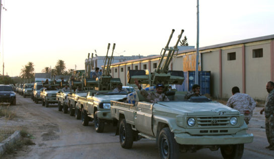 Libyan National Army Enters SIRTE City as GNA'S Defense Collapses Despite Turkish Troop Deployment