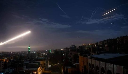 Syrian Air Defence System Repels Israeli Attack Targeting Air Base in Homs