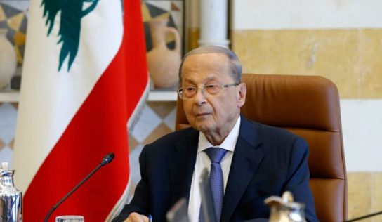 President Aoun: US 'ready to work' with new Lebanese govt